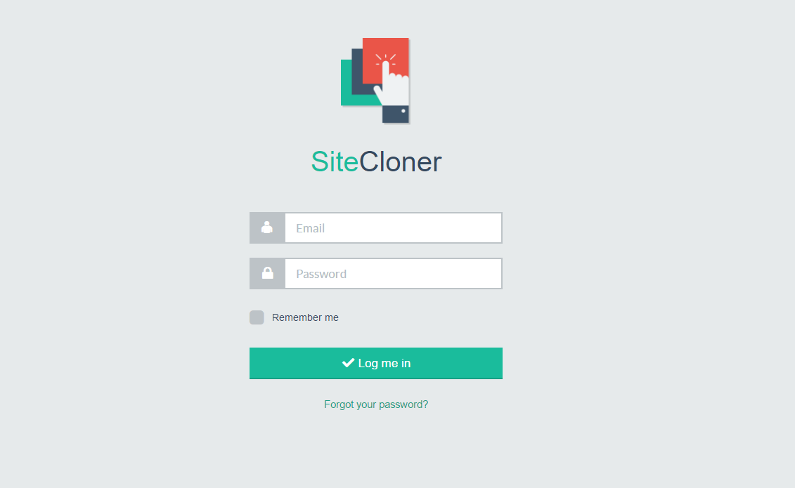 sell a php script to clone any website