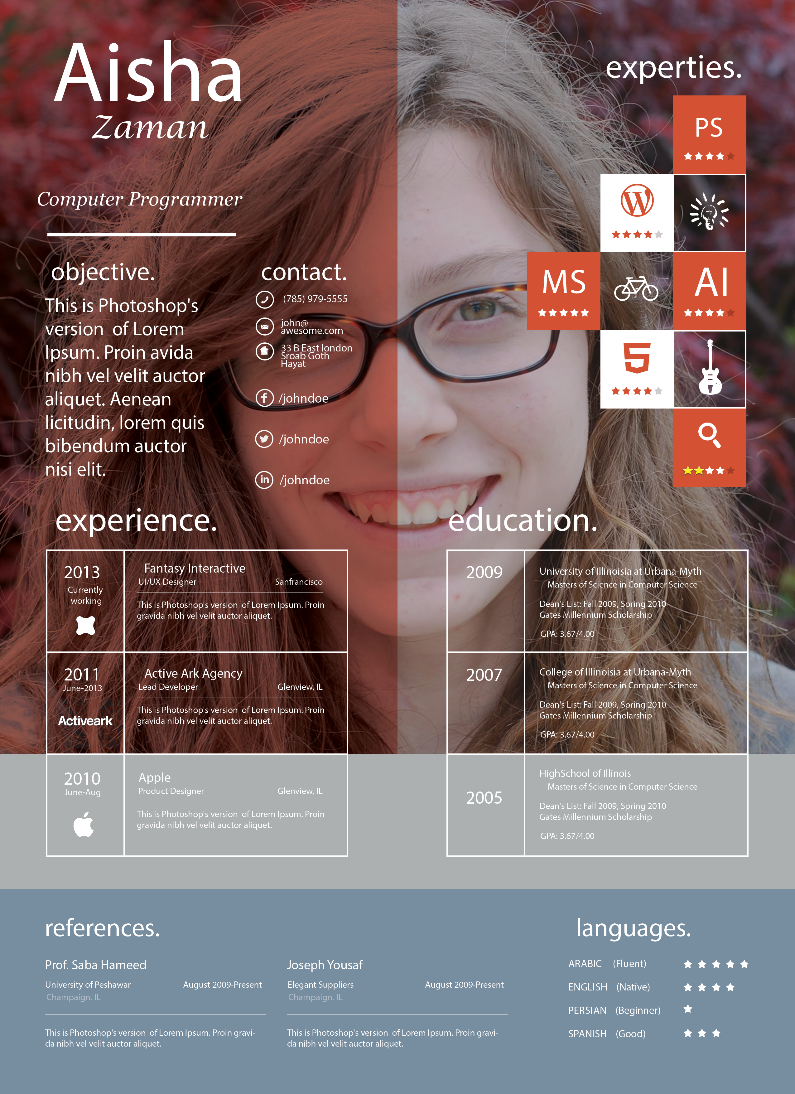 design a JOB WINNING resume for you