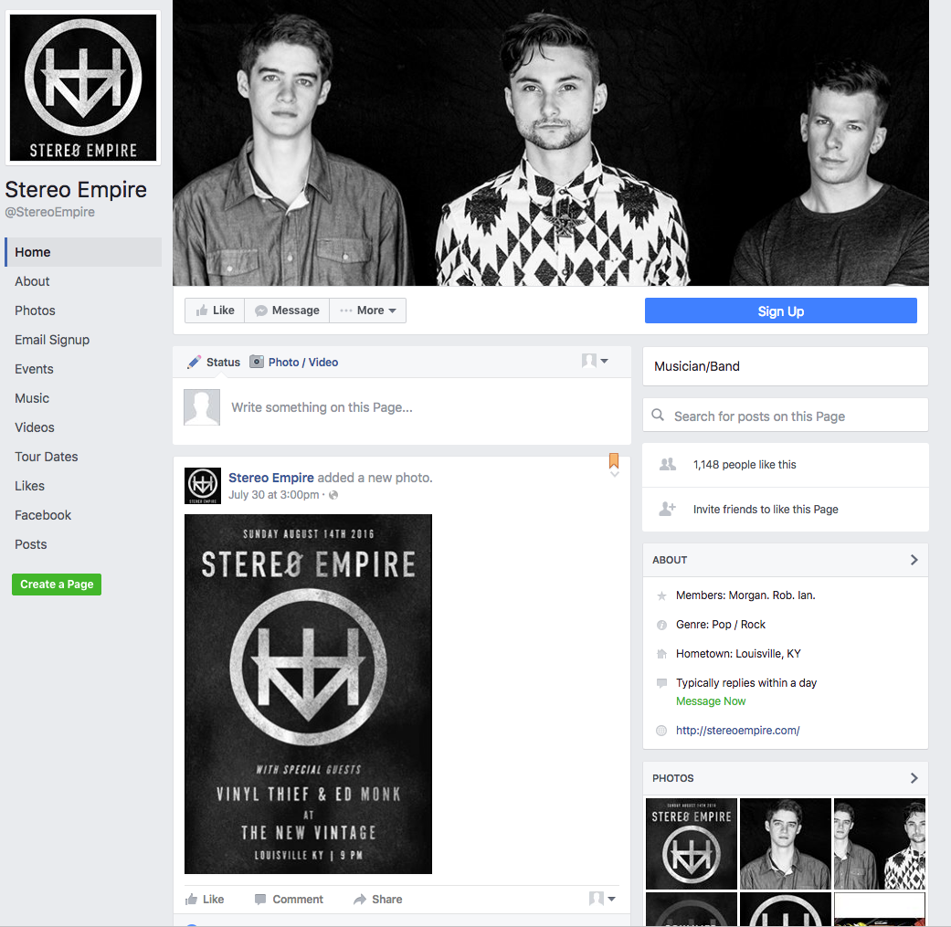 create your facebook profile images