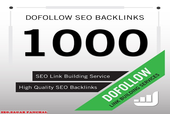 make 1000 high quality DOFOLLOW BACKLINKS