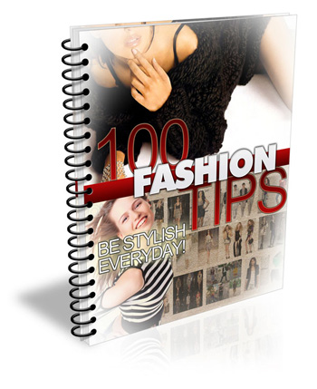 Give 3 E Books With 300 Fashion Tips