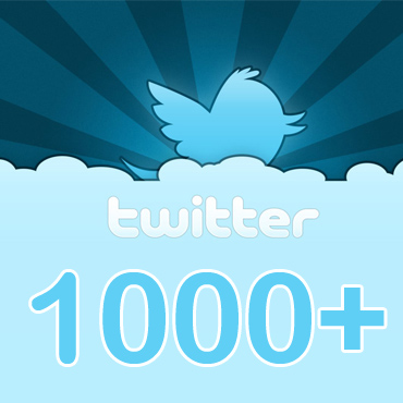 get 1000 Twitter Followers Premium