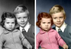 color your black and white photo professionally
