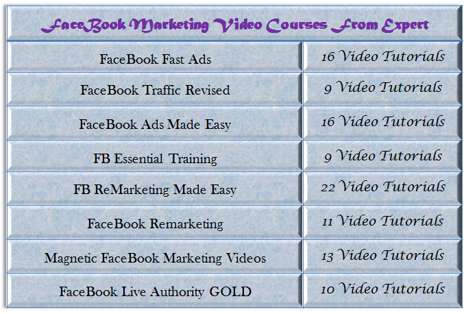 Give Paid Facebook Marketing Video Course