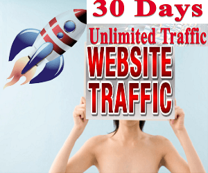 Give you UNLIMITED web Traffic for 30 days