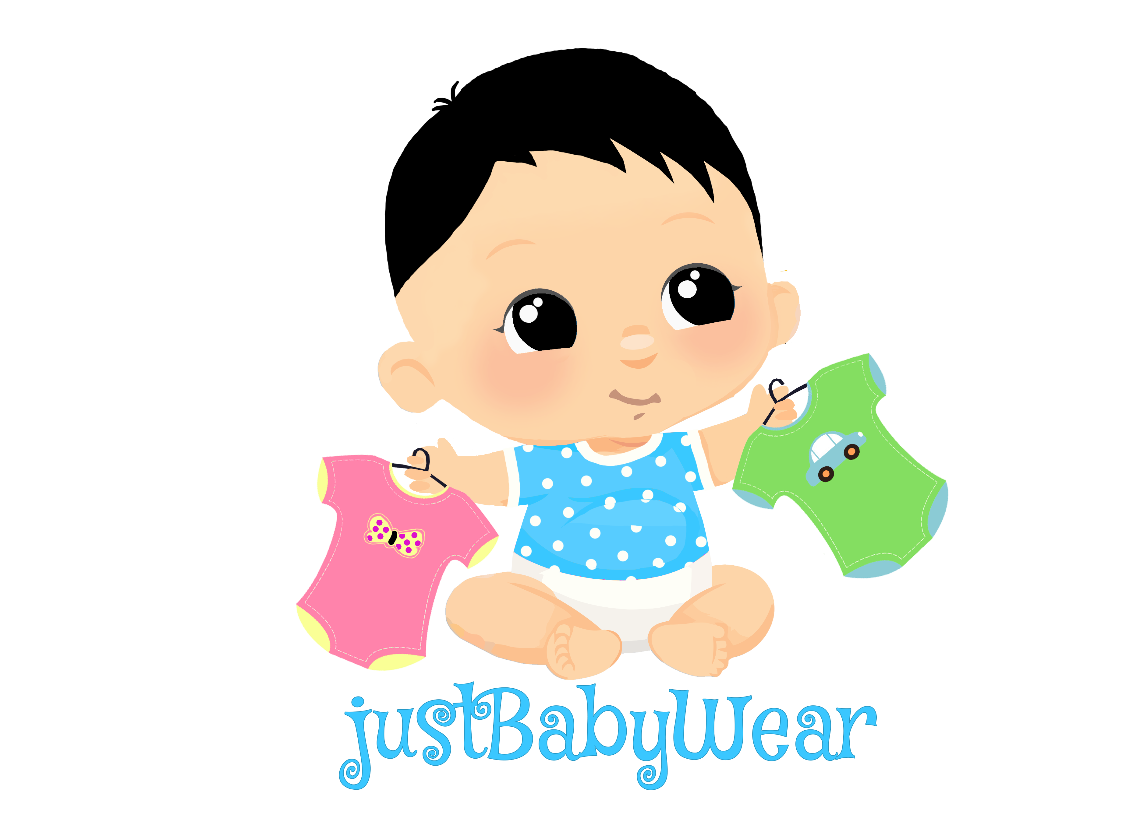 make a super cute Baby logo for your company