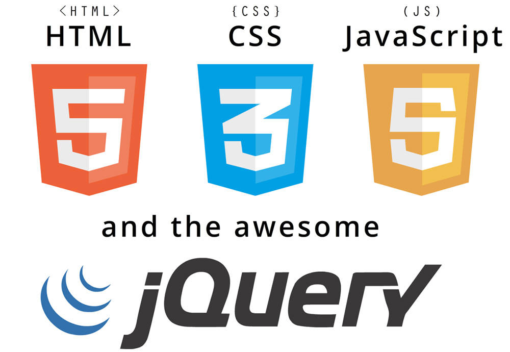 create custom website design with html5, css3 and jquery