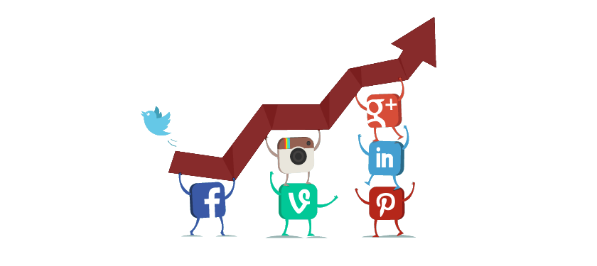 grow your social media profile (TW, FB, YT, etc..)