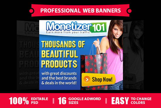 design professional web banners
