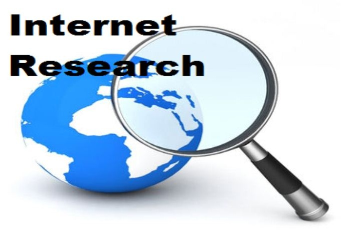 do Internet Research like finding contact information