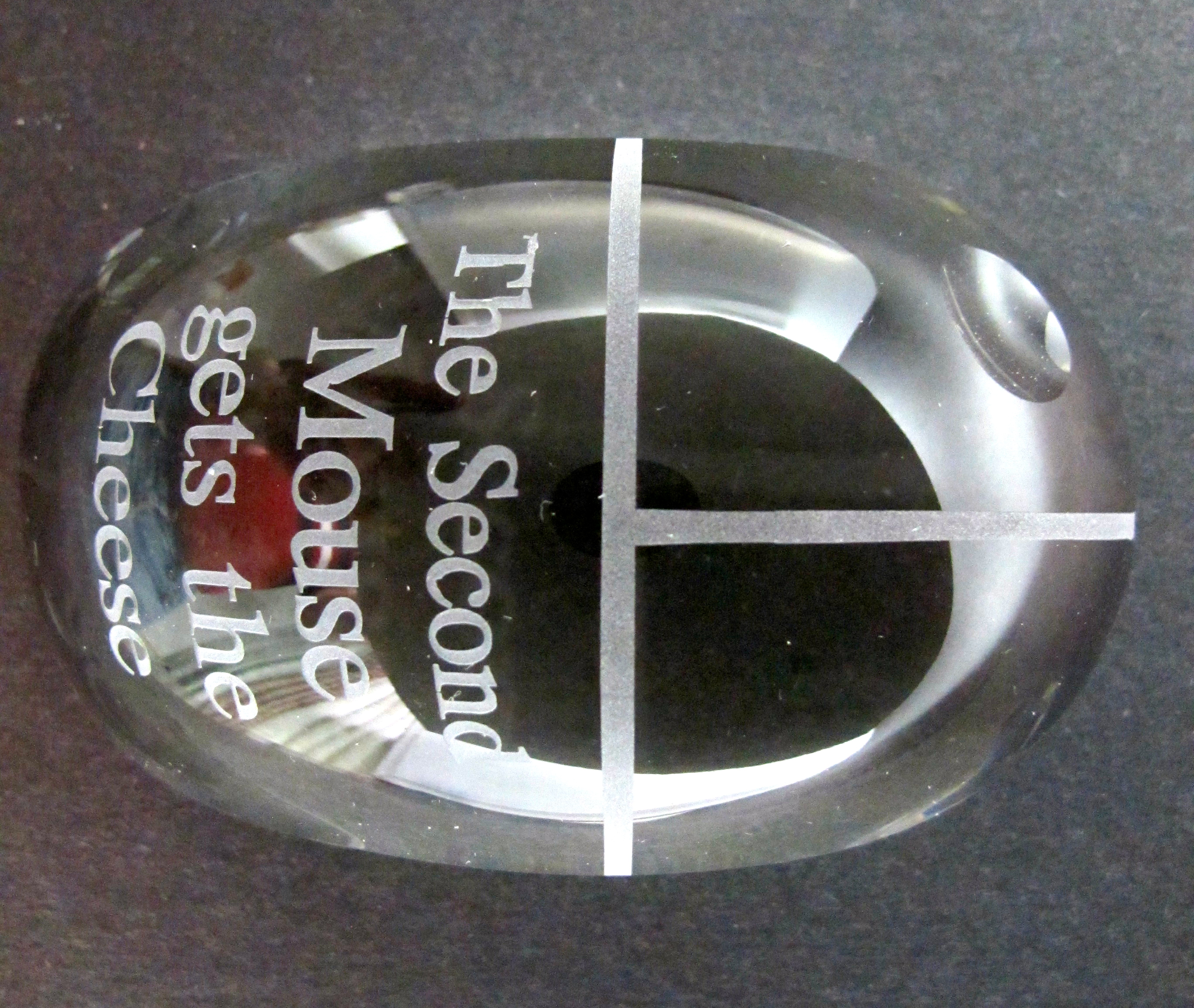 custom design glass paperweight gift