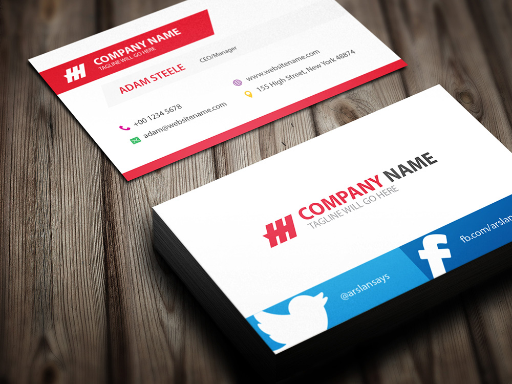 design modern and professional business card