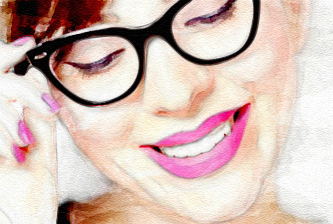 turn your photo into watercolor portrait