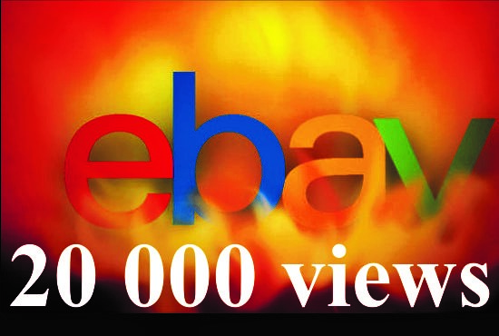 drive 20 000 people to your eBay Profile