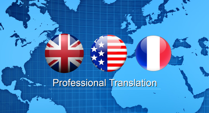 manually translate anything from English to French