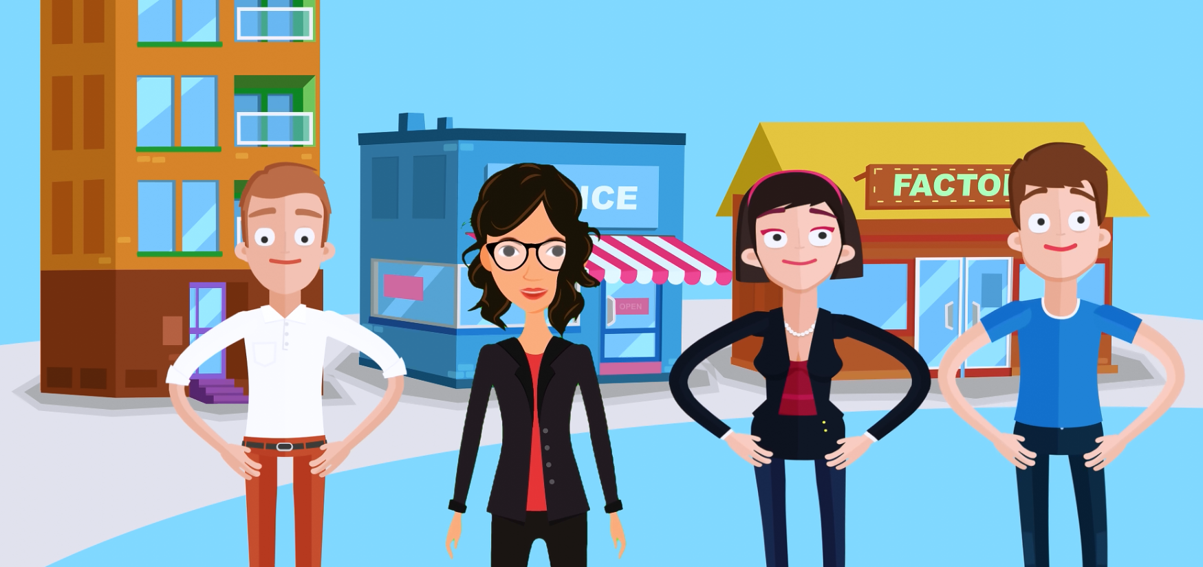 create a 1 minute explainer video for your business