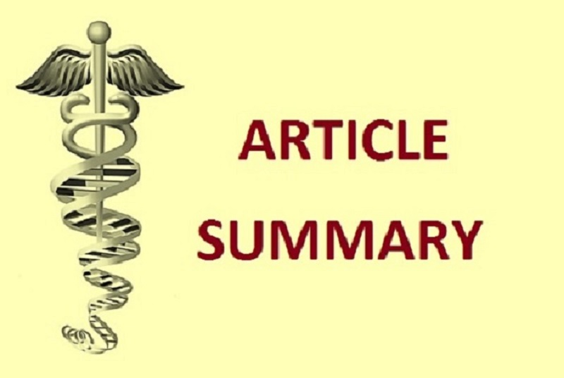 write a short summary of a research article