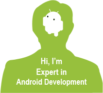 develop android apps with sleek UI