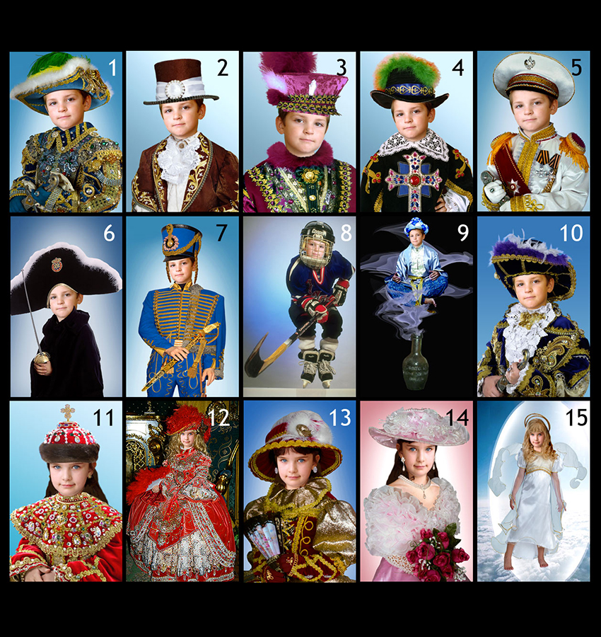make costume photo for your child