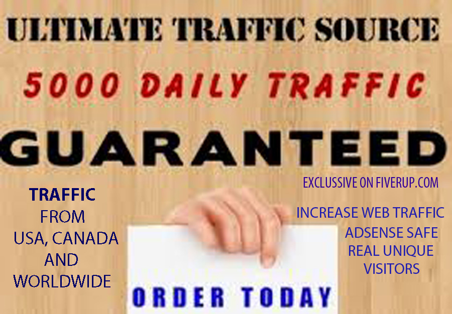 give a software and tutorials to get daily 5000 TRAFFIC TO YOUR SITE
