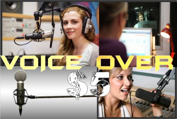 record a 200 word professional voiceover