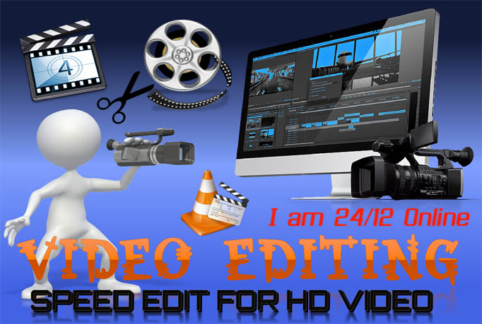 do PROFESSIONAL video editing 12 hour
