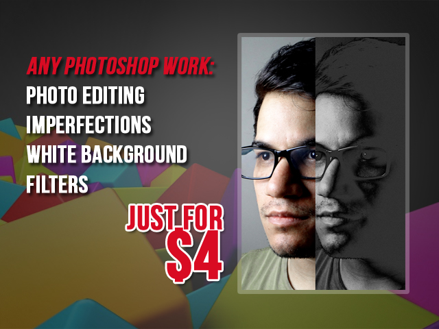 do any Photoshop work in less than 6 hours