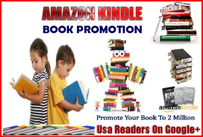passionately promote your Amazon kindle book on 2 million USA Readers