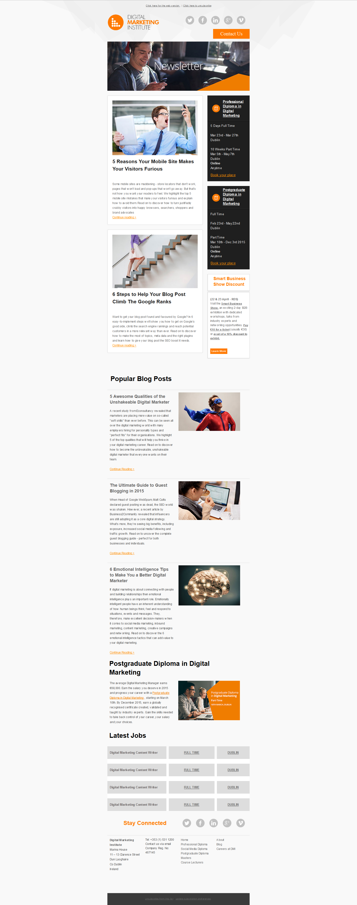 create responsive Email template and banner