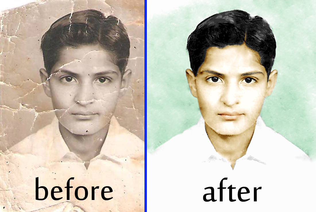 restore and colorize ANY photo