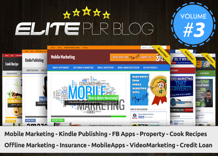 give you The Best Instant Niche Blogs Vol 3
