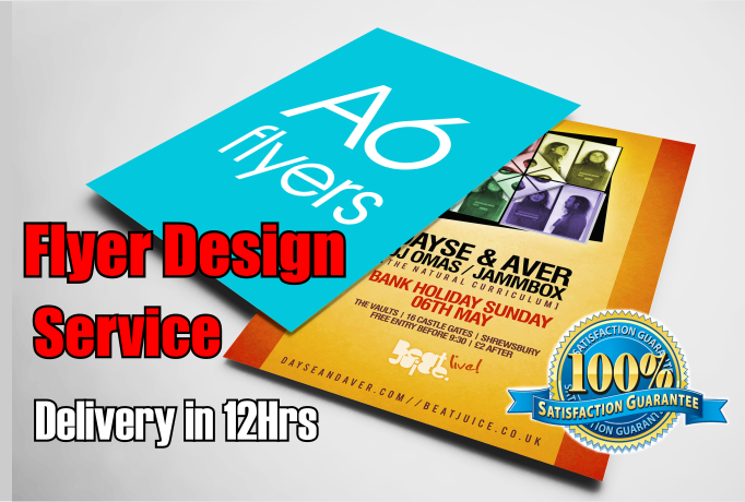 create 2 stunning flyer or poster