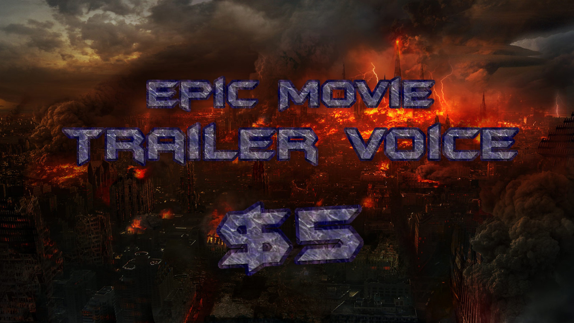 do a EPIC movie trailer style voiceover or narration