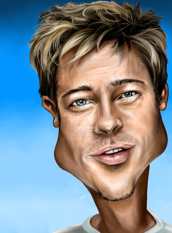 convert your picture into a Cartoon Caricature