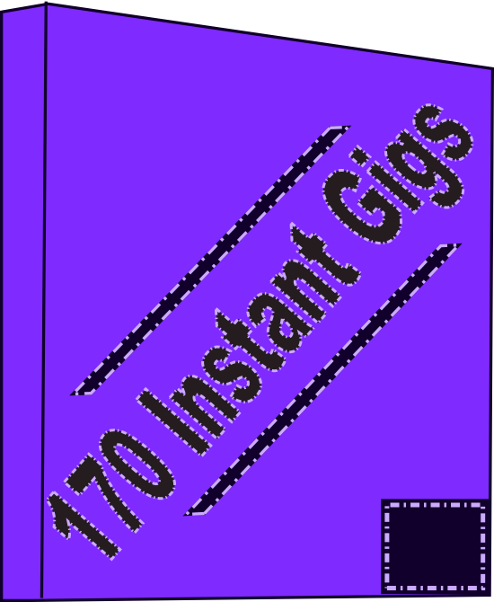 provide you with 170 instant gigs to sell and make money
