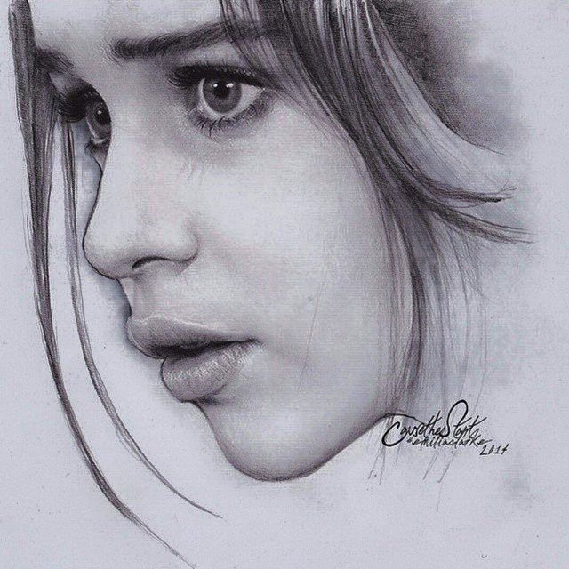draw a wonderful pencil portrait for you