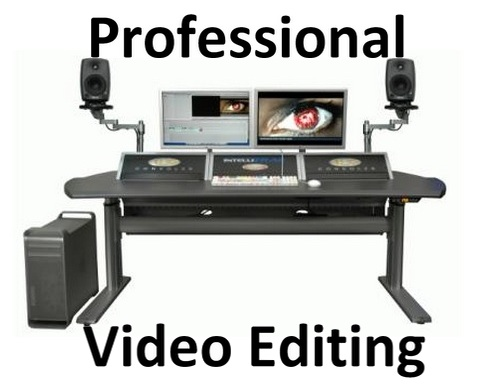 do PROFESSIONAL video editing and color correction