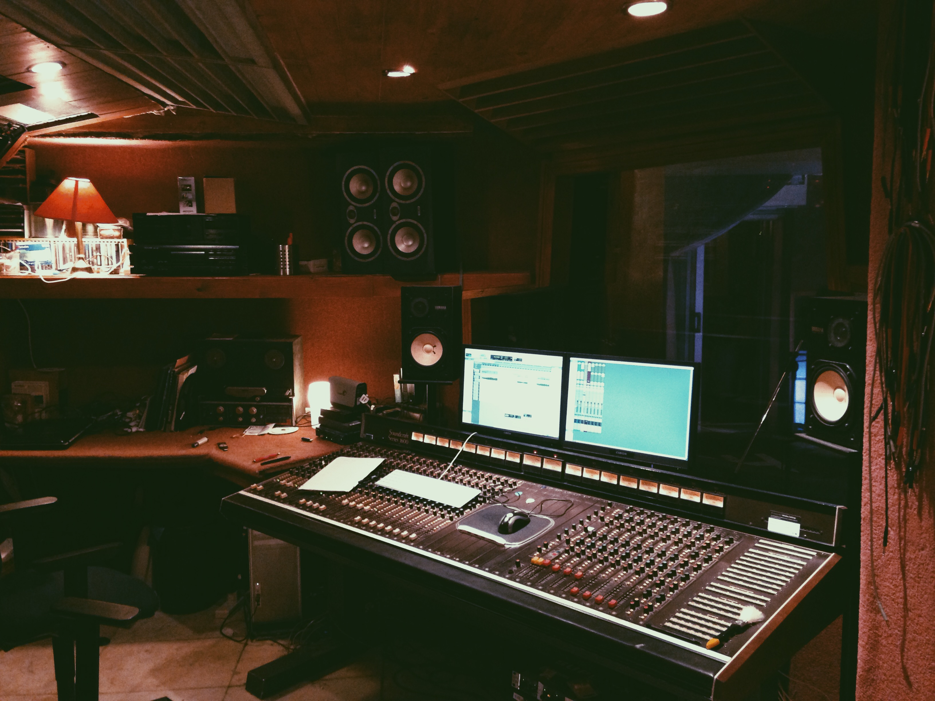 mix or master your track in a professional studio