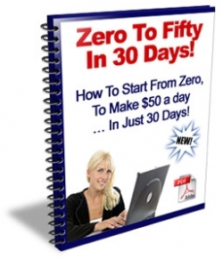 give you Zero To Fifty In 30 Days