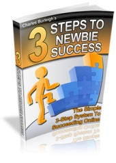 give you an online guide on 3 Steps To Newbie Success