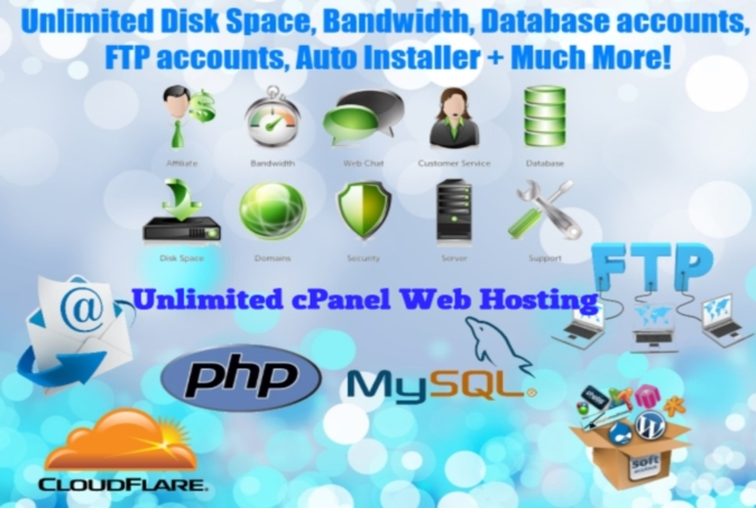 give you UNLIMITED cPanel Web Hosting For 6 Month
