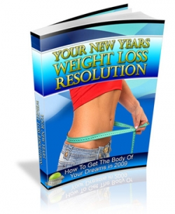 sell you an online guide Your New Years Weight Loss Resolution