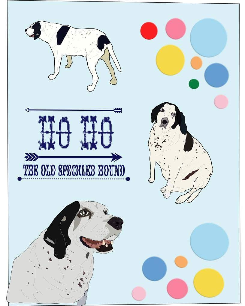 create a full-color, illustrated portrait of your pet