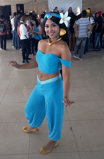 sing happy birthday as princess jasmine