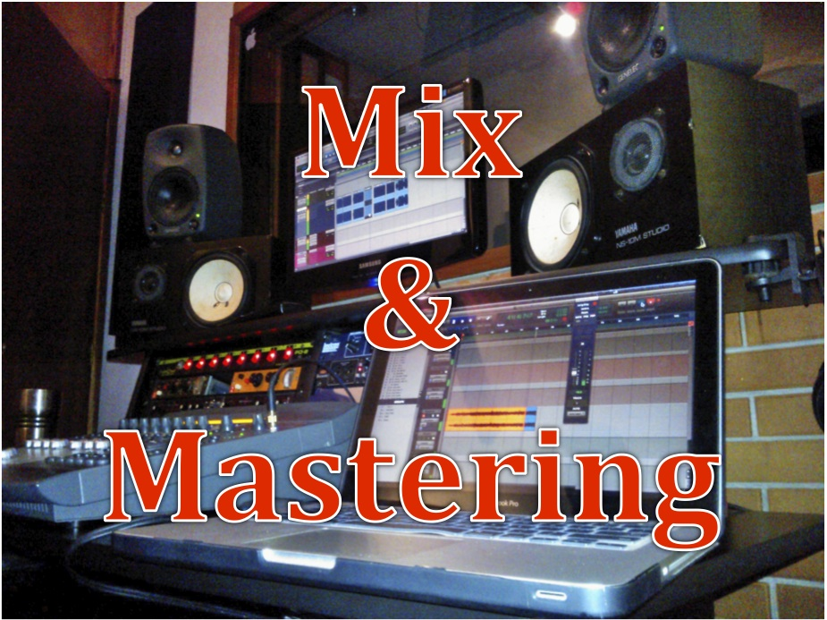 Mix & Master all your songs professionally