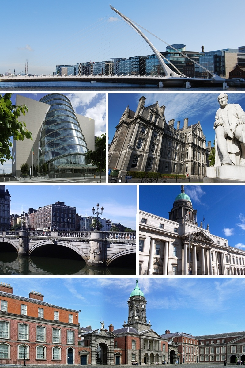 send a postcard from Dublin