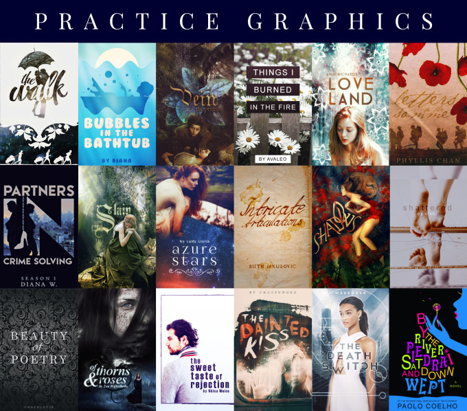 design alluring, PROFESSIONAL book covers and graphics