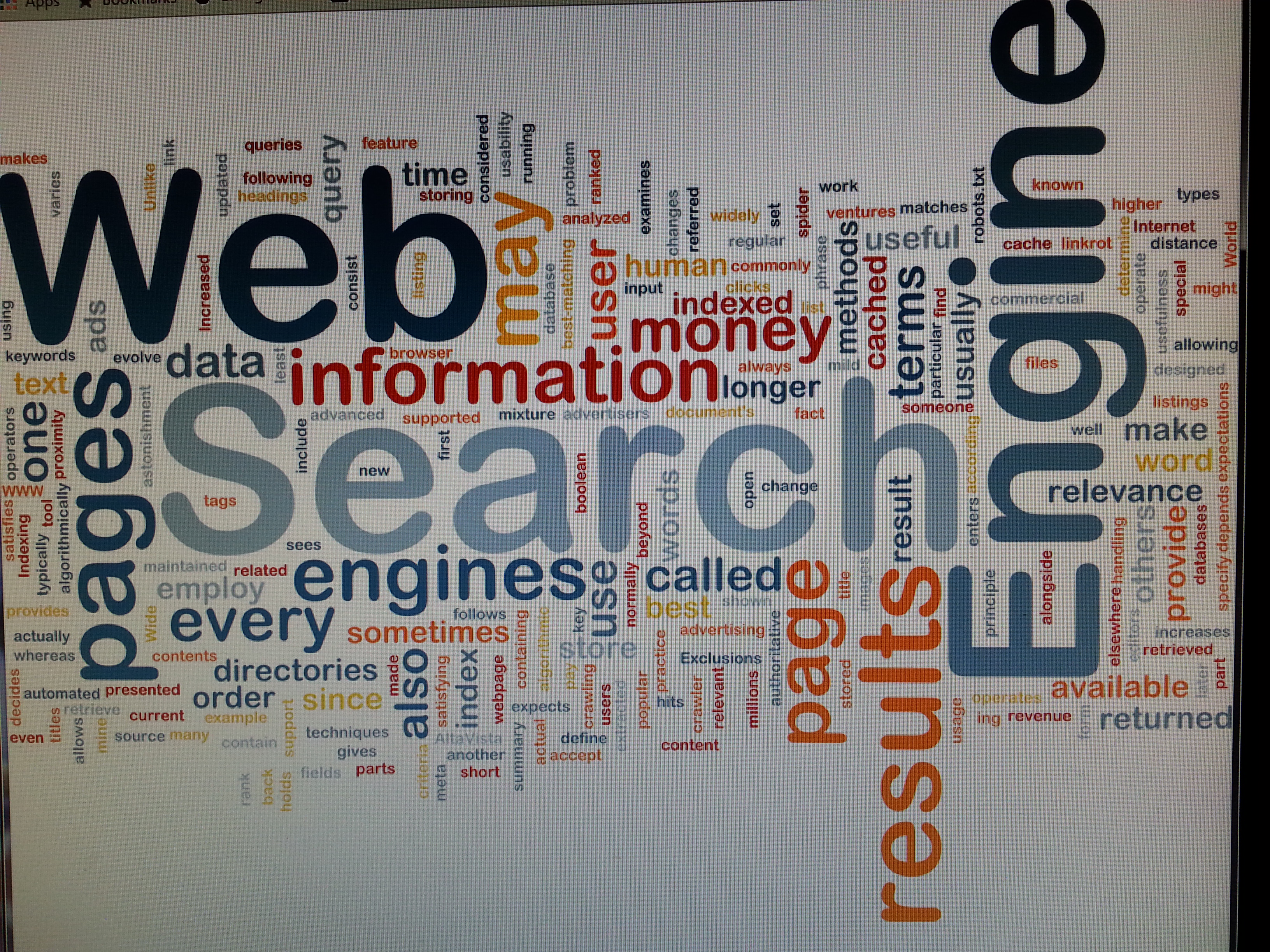 Search the internet for what you need!