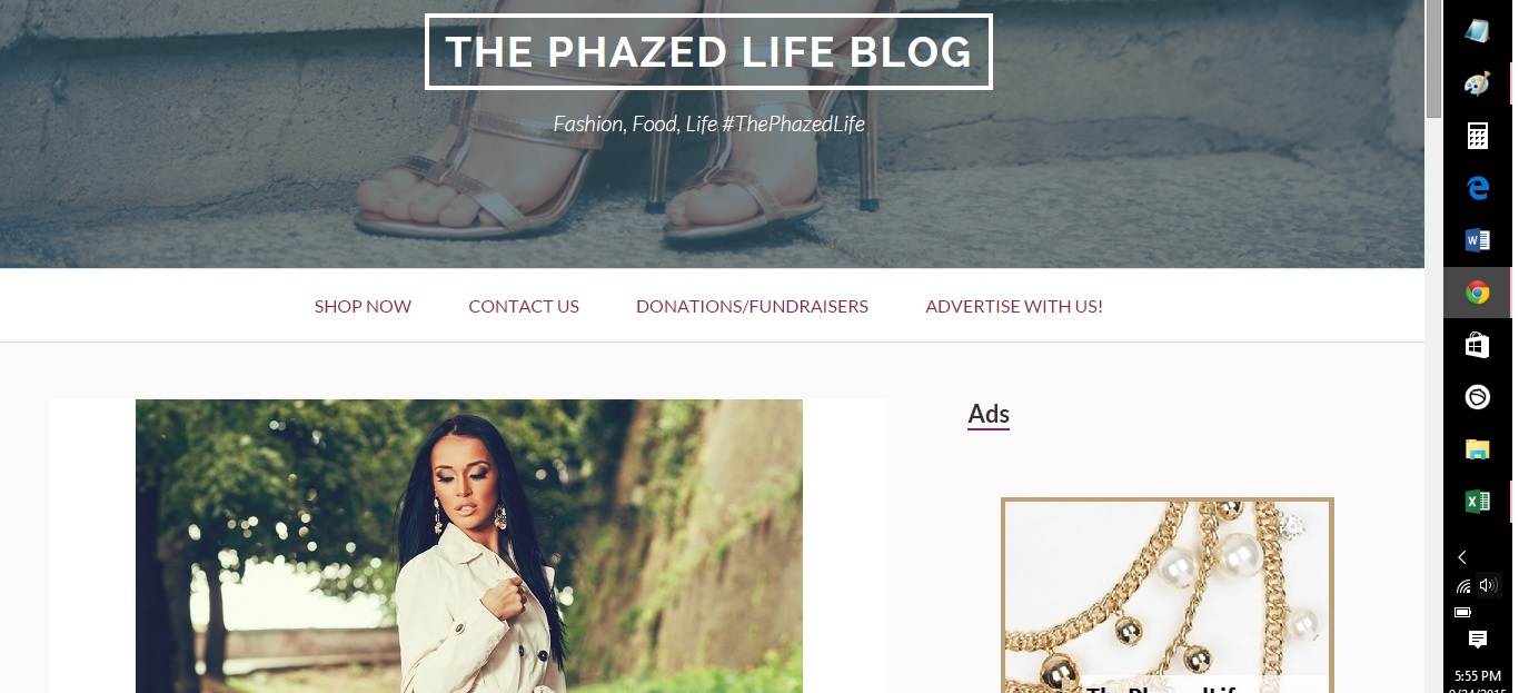 advertise your womens fashion ad/banner on my blog for 3 months