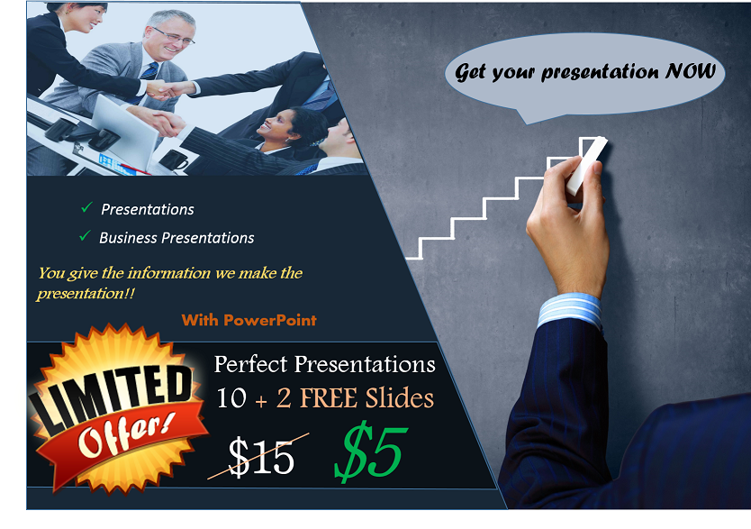 create a perfect PowerPoint presentation for you
